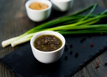 Соус чёрный из маслин